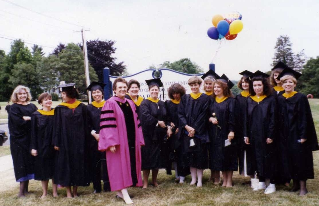 With the first SCSU MPH Class of 1993> 