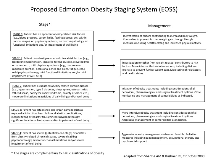 Edmonton Obesity Scale