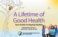 Womenhealth A Lifetime of Good Health: Your Guide to Staying Healthy