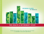 Growing Older in America: The Health and Retirement Study