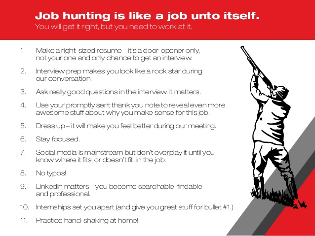 Jobhunting Tips
