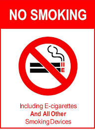 E-cigarettes banned