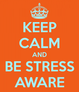 Be calm and stress aware