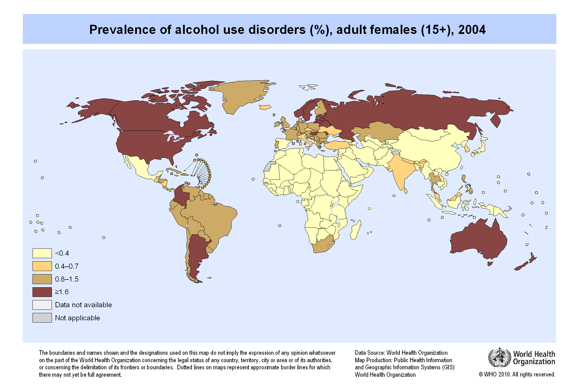 Female  Alcohol Use
