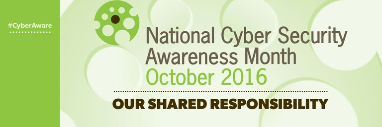 October is Cybersecurity Month