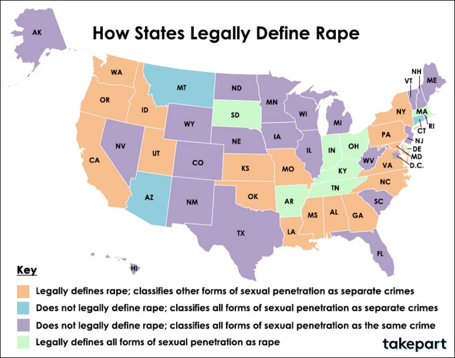 State Definitions of Rape