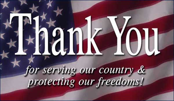 Veterans Day - thanks