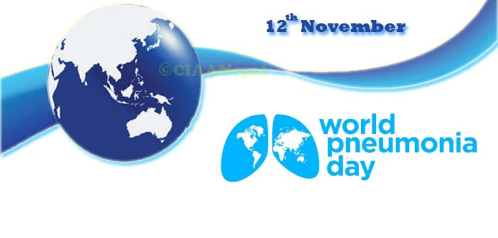 November 12 is World Pneumonia Day