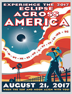 Eclipse Across America Poster