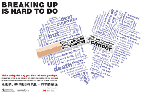 Canada's National Non-smoking week