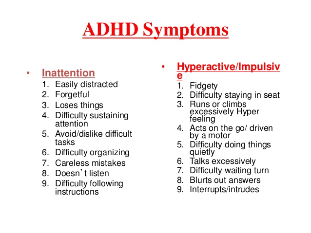 adhd disorder or cop out Anxiety disorders: these affect about 25 percent of children with adhd children with anxiety disorders have difficulty functioning because of extreme feelings of fear, worry, or panic, and may.
