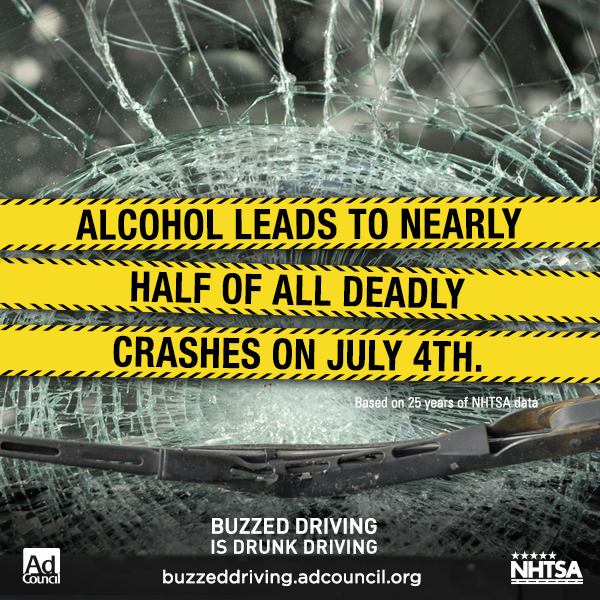 July 4th car crashes