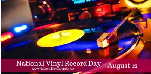 August 12 is Vinyl Record Day