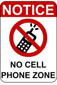 Turn off your cell phones in class!