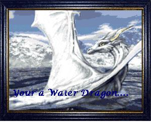 If you are near a water dragon when its sad, it will begin to rain...