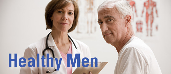 AHRQ Men's Health site