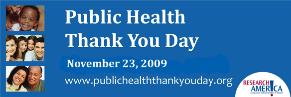Research America's Public Health Thank You Day