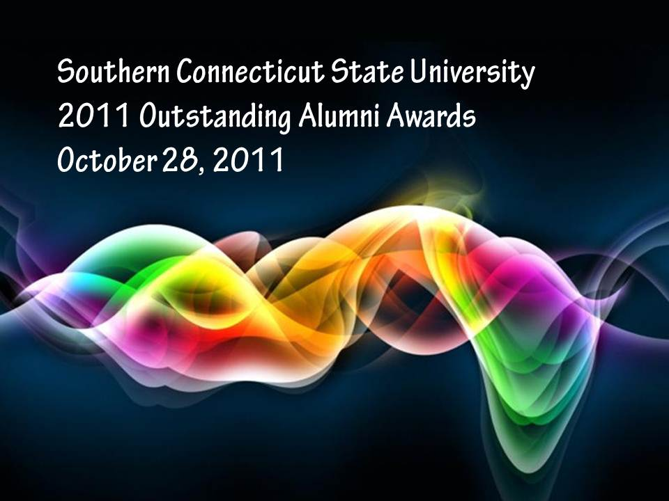 2011 SCSU Outstanding Alumni Awards