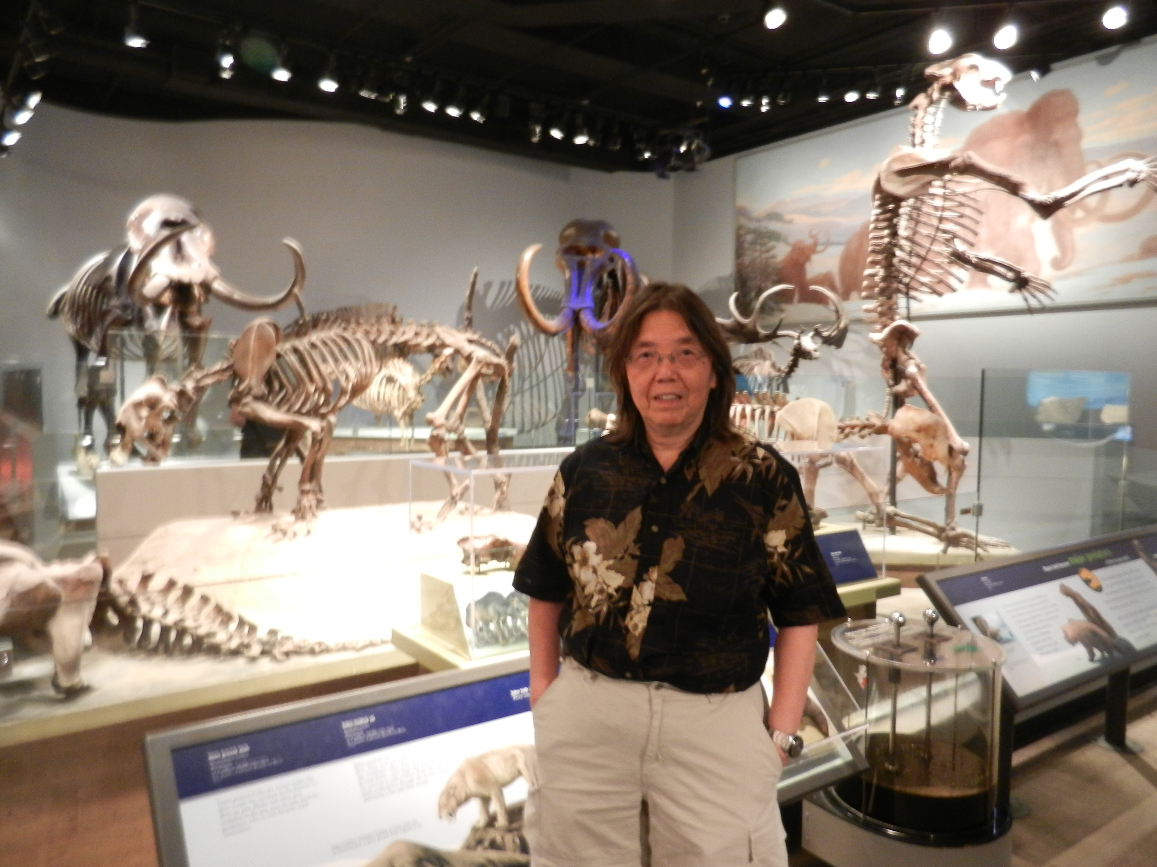 Betty C. Jung Spending Time with the Dinosaurs 2013